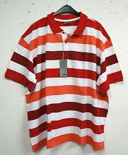 Gestreifte individualisierte Kurzarm Herren-T-Shirts