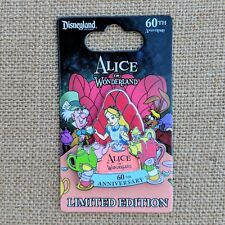 Alice in Wonderland Pin 2018 Disney 60th Anniversary Dormouse LE 2000