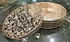 ANTIQUE TIFFANY & CO. A3940 STERLING SILVER LIDDED BOX
