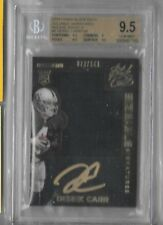 2014 Black Gold Sizeable Signatures Derek Carr Auto Jersey Rc # 70/149 BGS 9.5