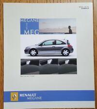 "Prospekt / DÉPLIANT RENAULT MÉGANE - ""SÉRIE LIMITÉE"" CAMPUS - 08/2005 - NEUF"