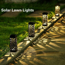 8 Pack Outdoor Garden Solar Power Pathway Lights Landscape Lawn Patio Waterproof