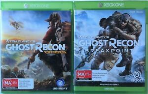 Tom Clancy's Ghost Recon Wildlands & Ghost Recon Breakpoint Xbox One Game Bundle