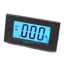 LCD DC 50A Digital display Panel Ammeter/ amp Ampere Meter Detect 12v AC/DC