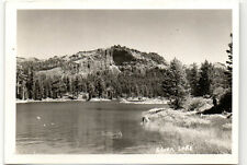 "Silver Lake CA Amador County 5"" Real Photo Postcard @1950"