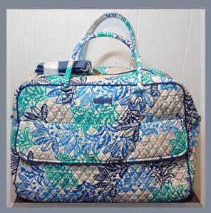 Vera Bradley SANTIAGO 🌿 GRAND TRAVELER Bag NWT $120 ~ SIGNATURE QUILTED COTTON