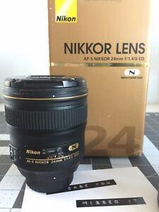 Nikon AF-S Nikkor 24mm f/1.4G ED Wide Angle Full Frame DSLRPrime Lens