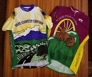 (2) VOLER CYCLING JERSEY GRIZZLY PEAK SF BAY AREA CALIFORNIA BERKELEY XL/2XL?