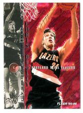 Chris Dudley 1995-96 Fleer Portland Trail Blazers Insert Basketball Card