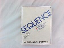 1995 Sequence - An Exciting Game of Strategy by Jax 100% Complete MINT