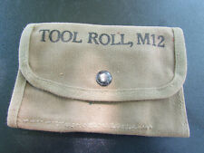 Pencil Case Tool Roll M12.WW2 Original 1943