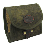 Tourbon Fly Leader Wallet Fishing Pouch Case Bags Patch Vintage Waxed Canvas NEW