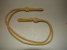 Replica 1872-1895 Pattern Us Army Officer Kepi & Visor Hat Gold Chin Cord