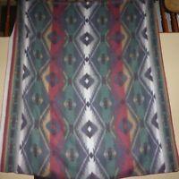 98 x 88 Southwest Aztec Fleece Throw Blanket Reversible