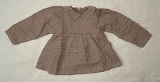 Blouse à carreaux (grise et rose) pour filles, Petit Bateau, 24 mois (86 cm)