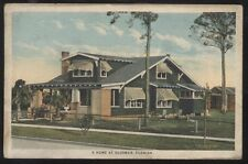 Postcard OLDSMAR/TAMPA Florida/FL  2 Story Bungalo House/Home view 1920's