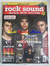 rivista ROCK SOUND 98/2006 +CD Wolfmother +POSTER Angel & Airwaves/NOFX Deftones