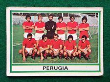 CALCIATORI 1973-74 73-1974 n 494 PERUGIA SQUADRA , Figurina Panini NEW