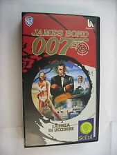007 LICENZA DI UCCIDERE - VHS PAL - SEAN CONNERY - URSULA ANDRESS