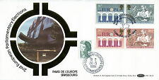 15 MAY 1984 EUROPA BENHAM BLS 4 DOUBLE DATED FIRST DAY COVER SHS (w)