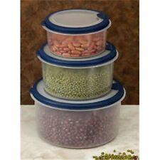 Cook Pro 615 Plastic Food Container 6pc Set Round