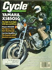 1979 Cycle Magazine: Yamaha XS850SG/Mugen ME360R/Cam-Am Qualifier