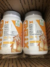 Lot Of 2 Xtend Pro Whey Isolate Salted Caramel Shake 1.81 lb Exp 10/2021