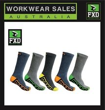 FXD Socks 5 pack Mens SK-1  2 Packs  2X total 10 pairs