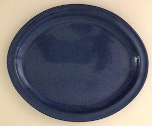 Friesland Ammerland  Blue Blau Servier Platte Oval 32 cm