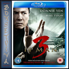 IP MAN 3 - Donnie Yen & Mike Tyson *BRAND NEW BLU-RAY REGION FREE*