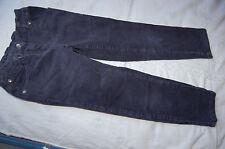 pantalon bleu marine ---  fillette 6 ans