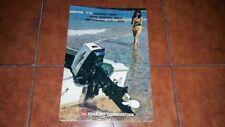 Brochure Catalogue Advertisement Tohatsu Engine Engines Boat Yacht Nautica 1970