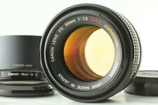 [Rare! Top Mint w/hood] Canon FD 55mm f/1.2 S.S.C SSC Aspherical Lens From Japan