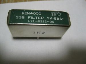 Kenwood YK-88S1 SOLDER in 2.7khz SSB filter in Very Nice shape