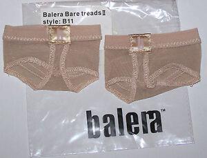 Balera Bare Treads II Half Foot Underwear Sandal Women Choice of XS S M L XL New