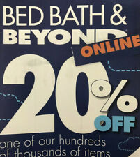 20 % off Single Item Bed Bath and Beyond coupon NOT EXPIRED ONLINE
