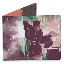 TYVEK DC Comics Catwoman Design Men's Mighty Wallet By Dynomighty Wallets DY804