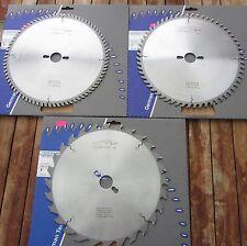 3er Set HM/Widia Kreissägeblatt 280 x 30 Z 28/60/80 Blue Line für Kity 619