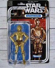 "In Stock! Star Wars Black Series 40th Anniversary 6"" Cardback C3P0 See-Threepio"