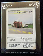 Sam Brothers - Cruzin' On - 8-Track - Sealed - Blues Unlimited 5014