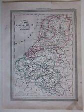 1864 OLANDA BELGIO Luxembourg Vuillemin Guigoni Doyen Nederland Belgique België