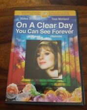 Barbra Streisand/Yves Montand - On a clear day You can see forever (2005 dvd)