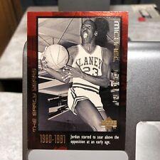1999 Upper Deck The Early Years Michael Jordan Card #4