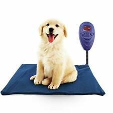 Pet Heating Pad, Waterproof electric heating mat, with Anti Bite Cord