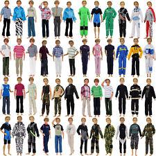 5 Sets Vielfalt Jacket Hose Outfits Uniform Für Barbie Freund Ken Puppe Zubehör
