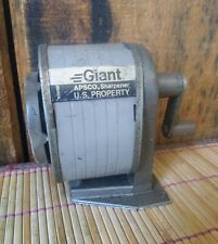 Vtg Berol Giant Apsco 6 Hole Pencil Sharpener - U.S. PROPERTY - Unique Works