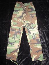 US Military ACU ARMY WOODLAND Camo Fatigue Combat Pants Cargo Hunting XS Long