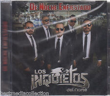 SEALED - Los Inquietos Del Norte CD NEW De Noche Enfiestado BRAND NEW