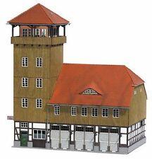 HO Scale Model Train Station