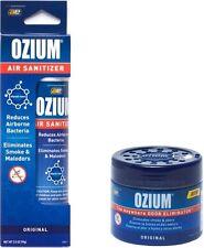 OZIUM Original Scent Smoke/Odors Eliminator Air Freshener 4.5 oz Gel & 3.5 Spray